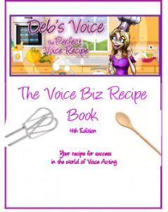 The Voice Biz Handbook with VO Chef Deb